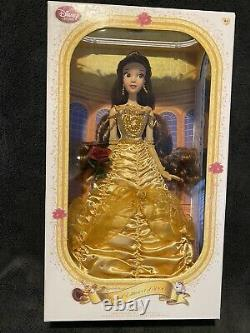 Disney Store Beauty & The Beast Belle Limited Edition Doll 1 of 5500