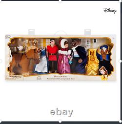 Disney Store Beauty and the Beast Deluxe Doll Gift Set New