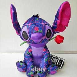 Disney Store Beauty and the Beast Stitch Crashes Disney Plush 1 of 12