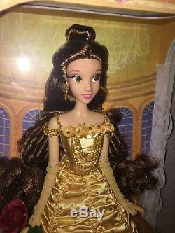 Disney Store Belle Beauty and the Beast Limited Edition 5000 Doll 17 LE