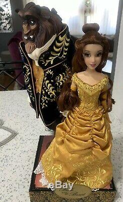 Disney Store Fairytale BEAUTY And The Beast Designer Limited Edition Doll BELLE