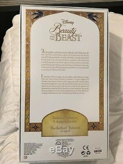 Disney Store Limited Edition 17 Beauty and the Beast LE Doll 3500 New