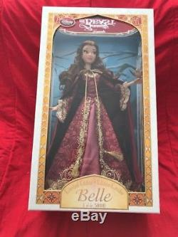 Disney Store Limited Edition Beauty and the Beast Winter Belle 17 Doll 2016 LE