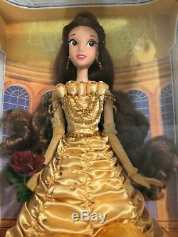 Disney Store Limited Edition Belle Doll Beauty and the Beast 17 New NIB 15000