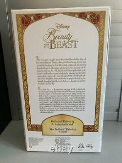 Disney Store Limited Edition Belle Doll Winter Beauty & the Beast 17