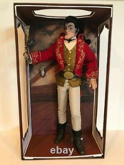 Disney Store Limited Edition Gaston 17 Doll Beauty And The Beast New 1353/2500