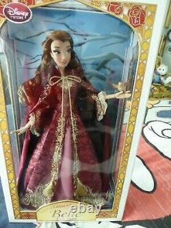 Disney Store Limited Edition Winter Belle 17 Doll Beauty & The Beast LE 1/5000