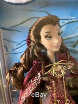 Disney Store Limited Edition Winter Belle Beauty And The Beast 17'' Doll 25th