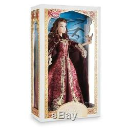 Disney Store Limited Edition Winter Belle Beauty And The Beast 17 Doll 5000 New