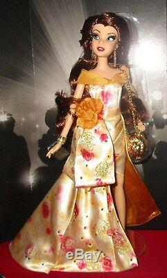 Disney Store Premiere Series Collection Belle Doll LE Beauty and the Beast HTF