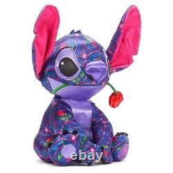 Disney Store Shanghai Stitch Crashes Plush january Beauty and the beast in hand