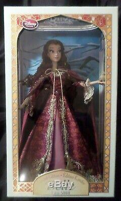 Disney Store Winter Belle 17 Limited Edition LE 5000 Doll Beauty Beast