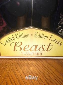 Disney Story 2016 Limited Edition Beauty and the Beast 1 of 3500 Beast Doll