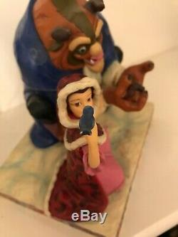 Disney Traditions Jim Shore Something There Beauty And The Beast Showcase Enesco