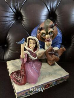 Disney Traditions Something There Jim Shore Beauty And The Beast Showcase Winter