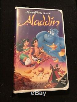 Disney VHS Tapes (Aladdin, Beauty and the Beast, Little Mermaid, Cinderella +8)