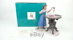Disney WDCC 4008347 Beauty And The Beast Belle Forbidden Discovery withCOA & Box