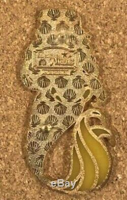 Disney Yellow Belle Beauty and the Beast Designer Mermaid Fantasy Pin LE 50