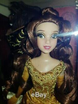 Disney limited edition doll Belle Beast designer fairytale beauty and the beast