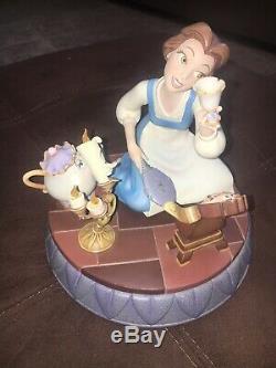 Disney's Beauty And The Beast MarkRita Belle Figurine 10th Year Anniversary Pin