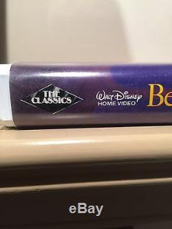Disney's Beauty And The Beast VHS 1992 Black Diamond Edition