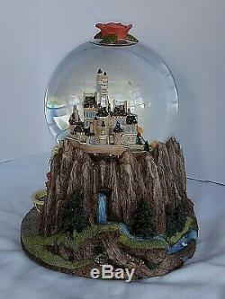 Disney's Beauty & The Beast Snow Globe Rare