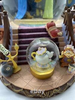 Disney's Beauty and The Beast Snow Globe, There's Something There