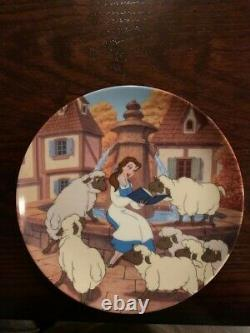 Disney's Beauty and the Beast 12 Knowles Bradford Exchange Collector's Plates