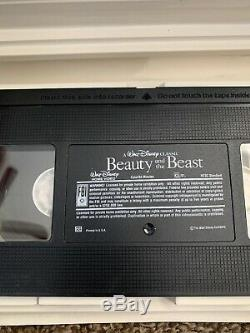 Disney's Beauty and the Beast 1992 VHS Black Diamond Classic VERY RARE