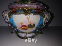 Disney's Beauty and the Beast Music Box Dancing 1991 Rare BELLE DOESN'T DANCE