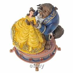 Disney store Beauty and the Beast Be our guest Figures with music box Bell 1100