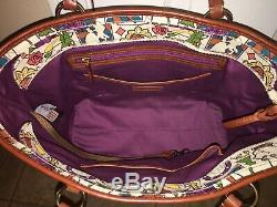Dooney And Bourke Disney Beauty And The Beast Satchel Limited Edition