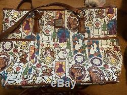 Dooney And Bourke Disney Beauty And The Beast Tote EUC