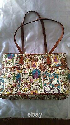 Dooney & Bourke Beauty and the Beast Belle Large Tote Purse and Wallet