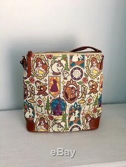 Dooney & Bourke Disney Beauty and The Beast Belle Crossbody Bag Purse Rare