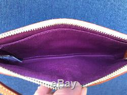EUC Disney Dooney Beauty And The Beast Wristlet Wallet Excellent Placement