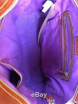 EUC Disney Dooney & Bourke Beauty and the Beast Large Shopper Tote Bag