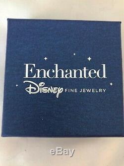 Enchanted Disney Beauty & the Beast Diamond Rose Pendant, NIB! Fine jewelry