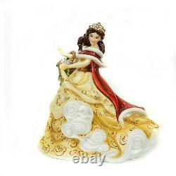 English Ladies Disney Beauty & the Beast Princess Winter Belle Figurine