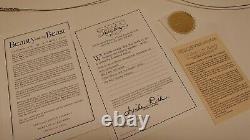 GALLERY LAINZBERG Beauty and the Beast 1991 Walt Disney Animation Cel 285/500 KW