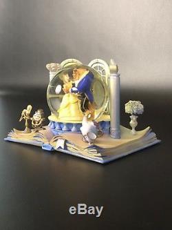 Hallmark- Wonders Within- Disney- Beauty and the Beast Snow Globe