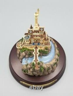 Ian Fraser The Disney Collection Beauty and the Beast BEAST CASTLE Miniature