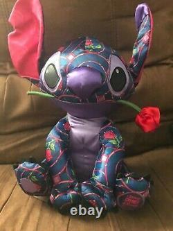 January Stitch Crashes Disney Beauty and the Beast Plush