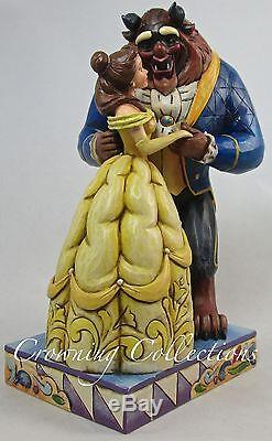 Jim Shore Beauty and The Beast Love Conquers All Belle Disney Traditions Figure