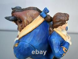 Jim Shore Disney Traditions Beast Prince Two Sided Figurine Beauty and the Beast