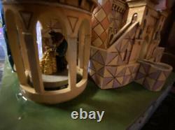 Jim Shore Disney Traditions Beauty and the Beast Enchanted Kingdom Castle No Box