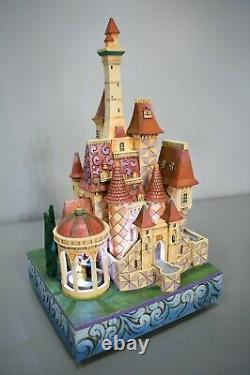 Jim Shore Disney Traditions Beauty and the Beast Enchanted Kingdom Castle Rare
