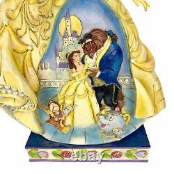 Jim Shore Moonlit Enchantment Disney Belle Figurine Beauty and the Beast