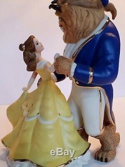 LENOX Disney Beauty & Beast Belle Dances with Beast Figurine NEW IN BOX