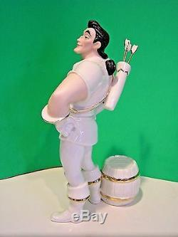 LENOX GASTON BEAUTY and the BEAST Disney sculpture NEW in BOX with COA